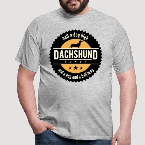 Dachshund Power - Mannen T-shirt