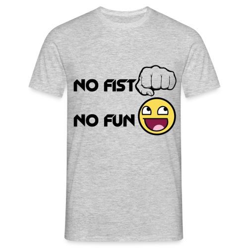 NoFistNoFun png - T-shirt Homme