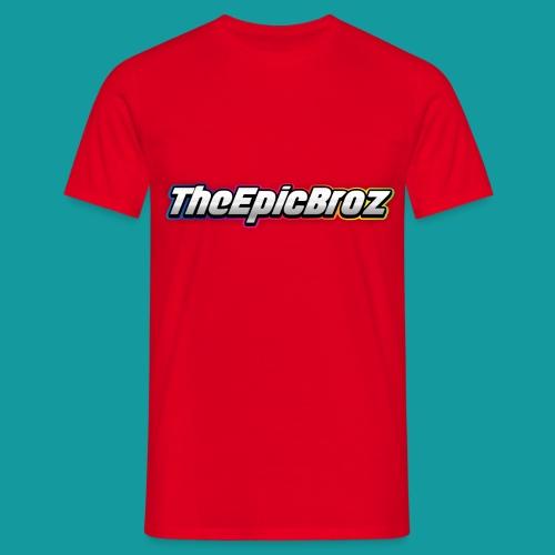 TheEpicBroz - Mannen T-shirt