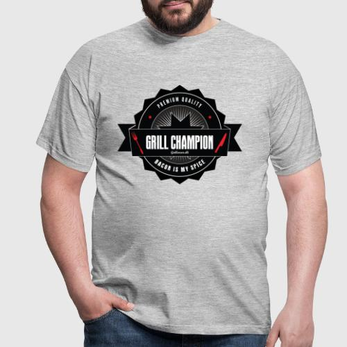 GRILL CHAMPION - Herre-T-shirt