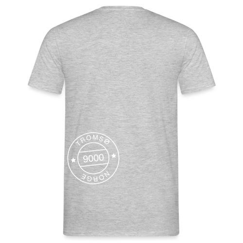 9000tlogostorre - T-skjorte for menn