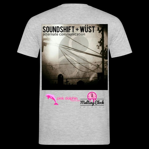 SOUNDSHIFT and WÜST - Men's T-Shirt