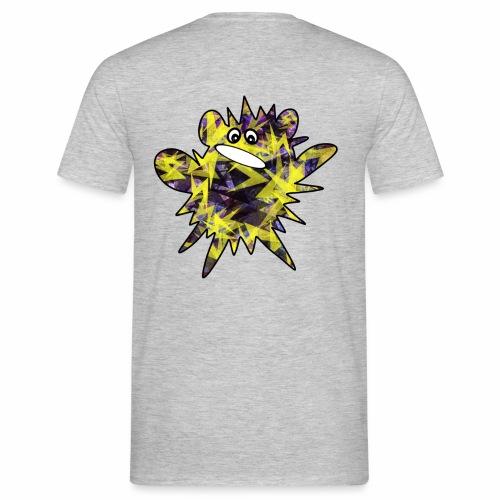 Monsterchen Blitz gelb - Männer T-Shirt