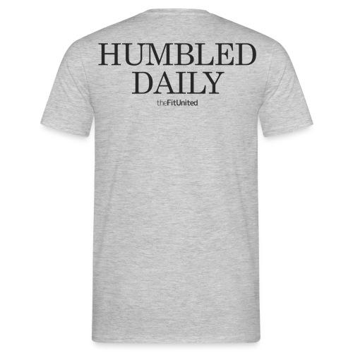 humbled_daily_logo - Men's T-Shirt