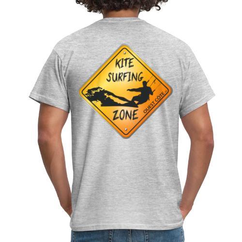 KITESURFING ZONE OUEST CÔTE - T-shirt Homme