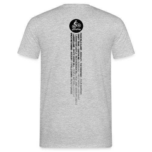MBS Places Stripe2black - Men's T-Shirt