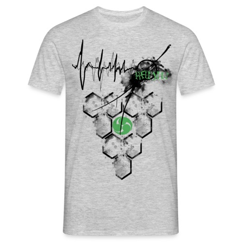 Raijin Hero-Heartbeat - Männer T-Shirt