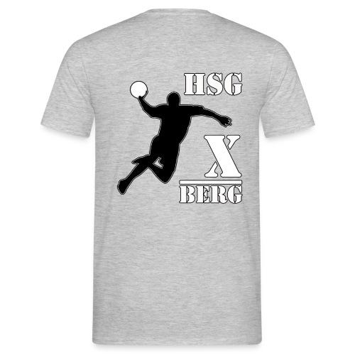 hsg druck x berg - Männer T-Shirt