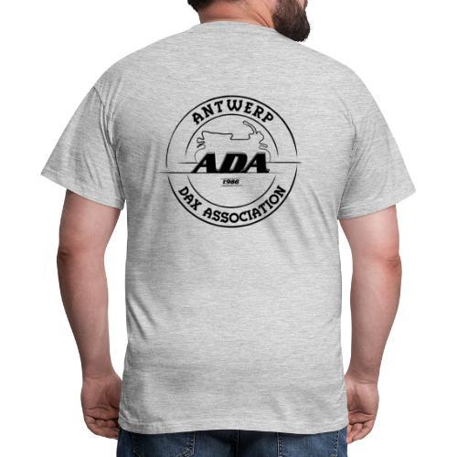 ADA DAX Logo Groot Zwart - Mannen T-shirt