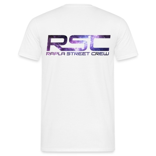 Rapla Street Crew Logo Galaxy - Men's T-Shirt