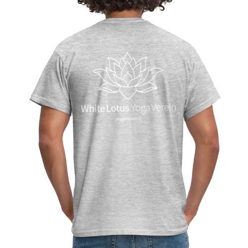Jacket White Lotus Yoga Verein - Männer T-Shirt