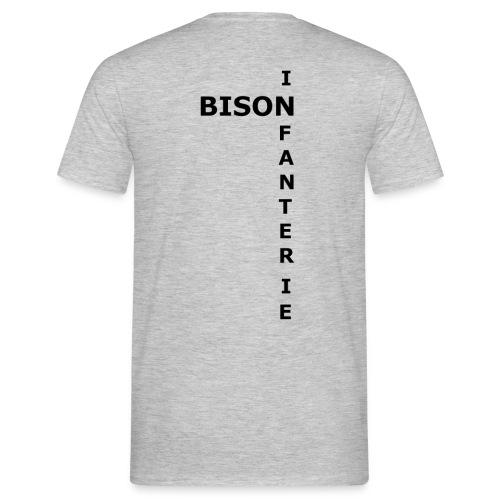 Bison d'Infanterie - T-shirt Homme