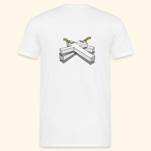 Gold Crosses - Maglietta da uomo