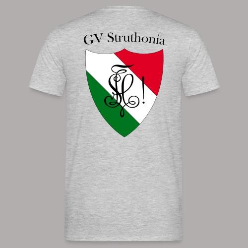 Wappen Struthonia beschriftet - Männer T-Shirt