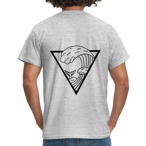 WAVE TRIANGLE - Men's T-Shirt