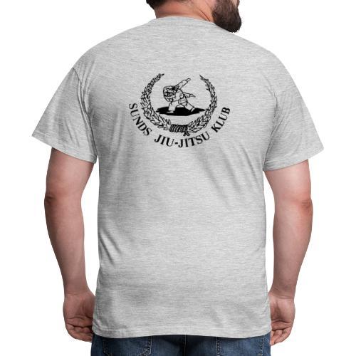 logo bagpå - Herre-T-shirt