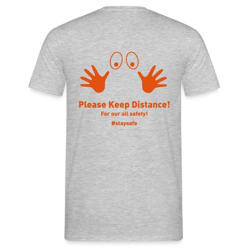 Please Keep Distance - Männer T-Shirt
