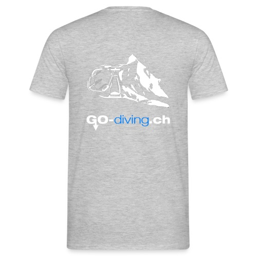 Go Diving - T-shirt Homme