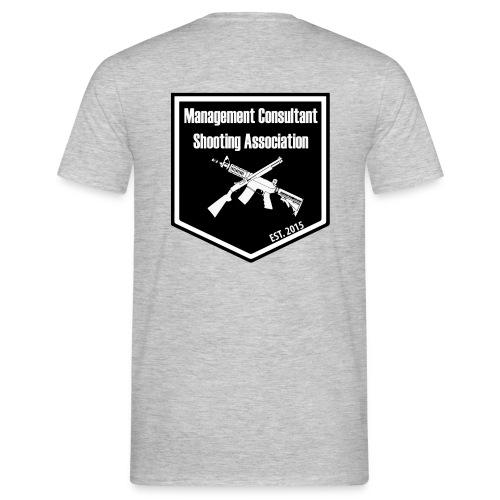 MCSA-logo - Miesten t-paita