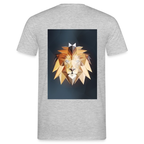 Polygon Lion - Männer T-Shirt