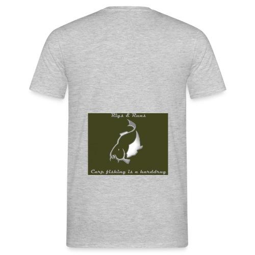 Rigs & Runs - Mannen T-shirt