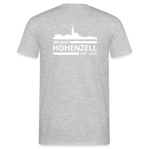 850 Jahre Hohenzell Logo vFINAL png - Männer T-Shirt