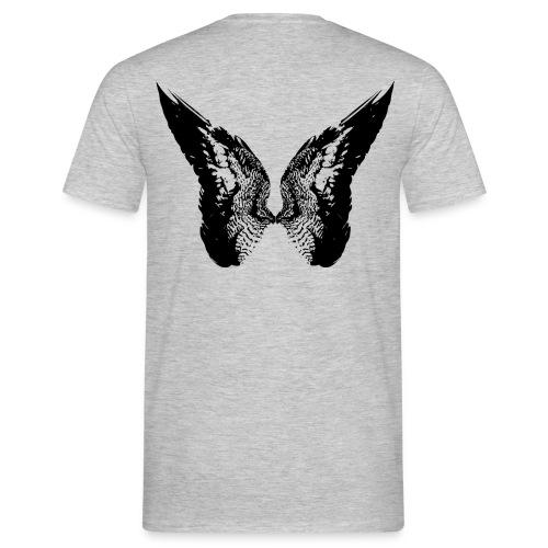 Tom Moriarty Drawn Wings Black - Men's T-Shirt