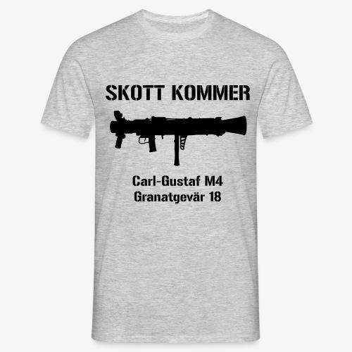SKOTT KOMMER - KLART BAKÅT - SWE Flag - T-shirt herr
