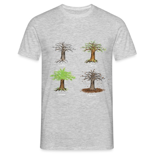 four seasons - Männer T-Shirt