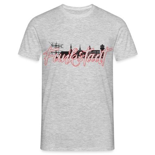 Funkstadt Shirt black / red - Männer T-Shirt