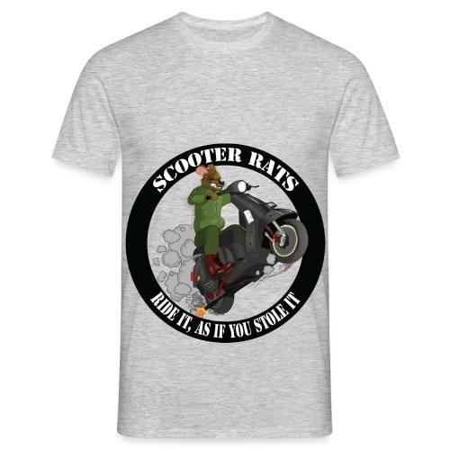 Scooter Rat - Men's T-Shirt