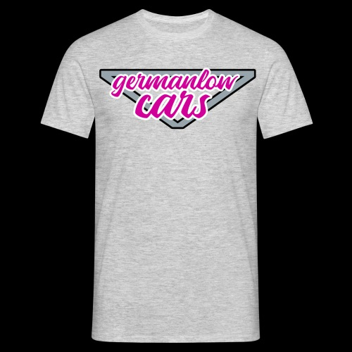 glc pink grey - Männer T-Shirt
