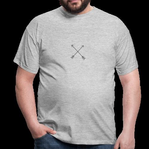crossed arrows - Men's T-Shirt