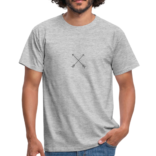 crossed arrows - Men's T-Shirt