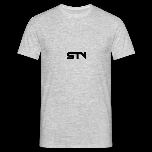 STV Logo Black - Men's T-Shirt