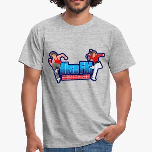 Rise FM Denmark Full Logo - Herre-T-shirt