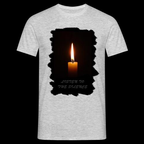 Listen to the Silence - Männer T-Shirt