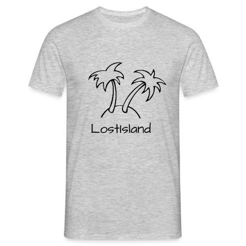 LostIsland ~ Palme - Männer T-Shirt