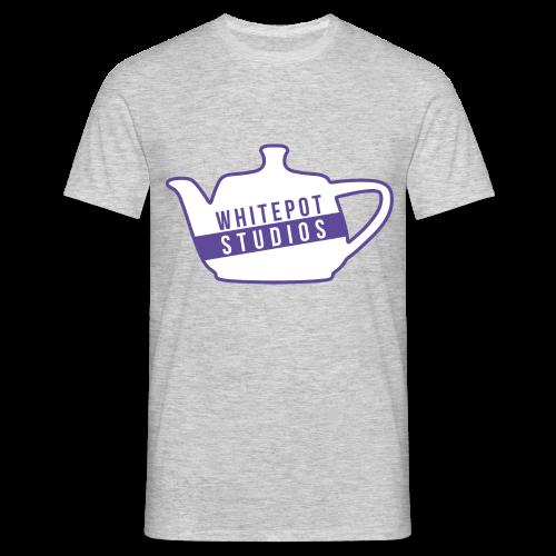 Whitepot Studios Logo - Men's T-Shirt