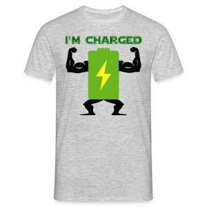 Battery charged - Camiseta hombre