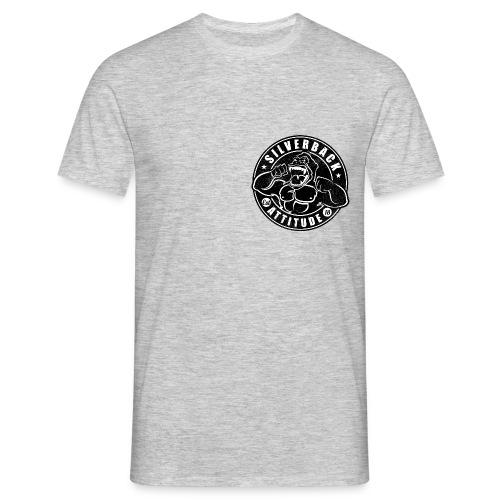 Silverback Attitude - Männer T-Shirt