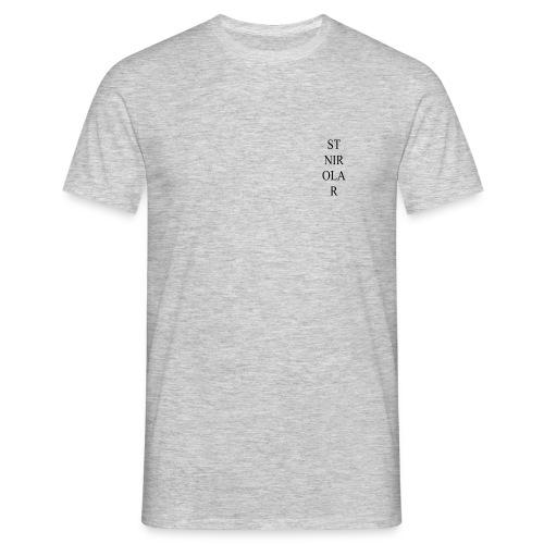 St Nirolar LOGO ZWART - Mannen T-shirt
