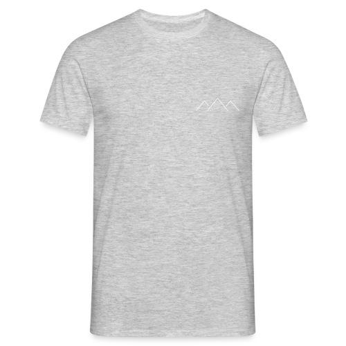 MOUNTAIN LINES - Mannen T-shirt