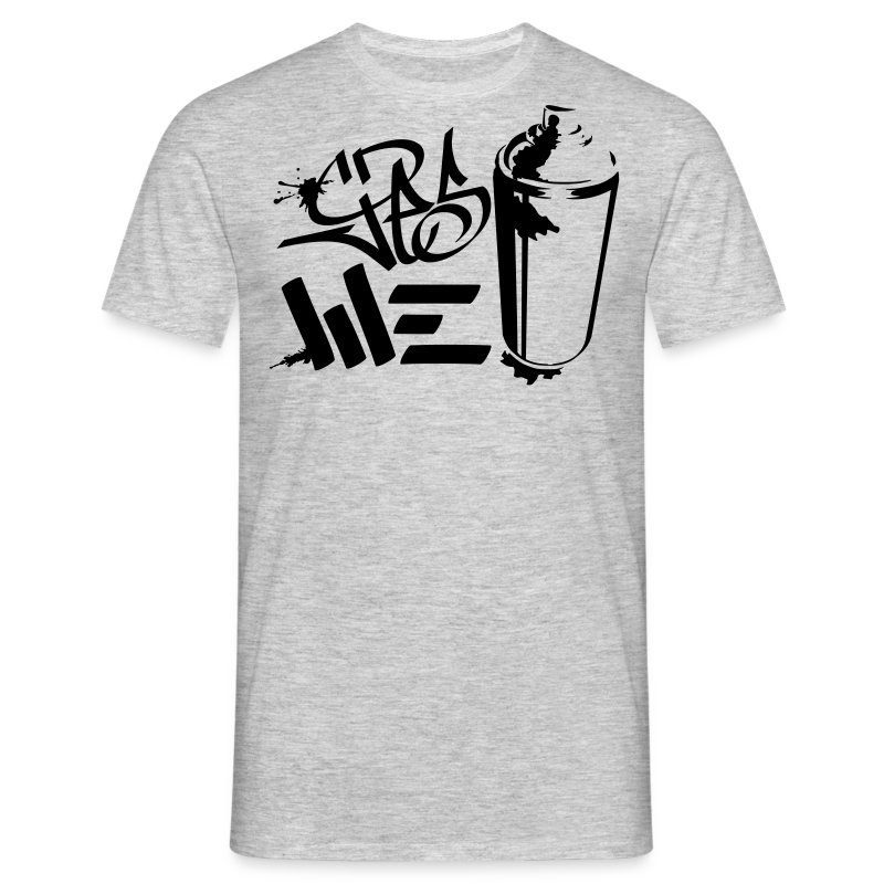 Yes We (spray)Can Graffiti handstyle tag - Männer T-Shirt