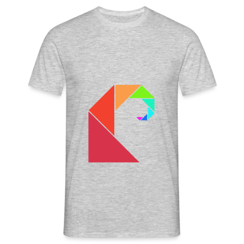 swell rainbow - Mannen T-shirt