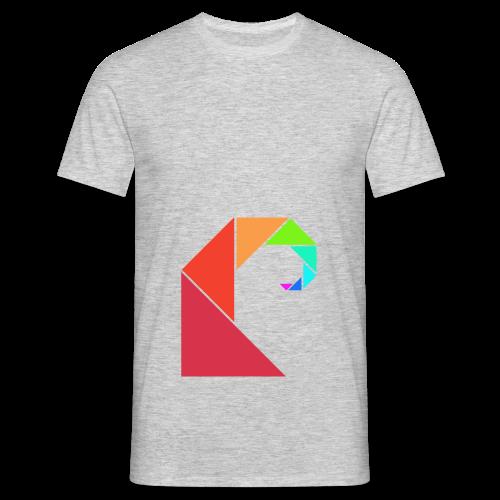 swell rainbow - Mannen T-shirt