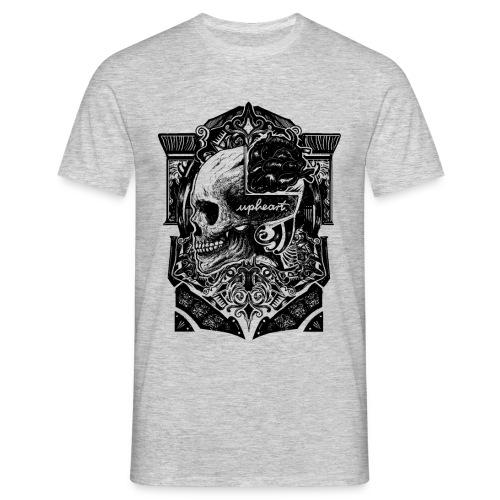 Skull and Heart - Männer T-Shirt