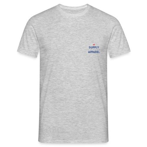 Plain EST logo design - Men's T-Shirt