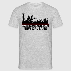 NEW ORLEANS - Party All Night Long - T-shirt herr