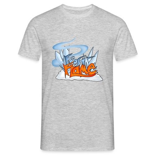 FrostFlame Logo - T-skjorte for menn